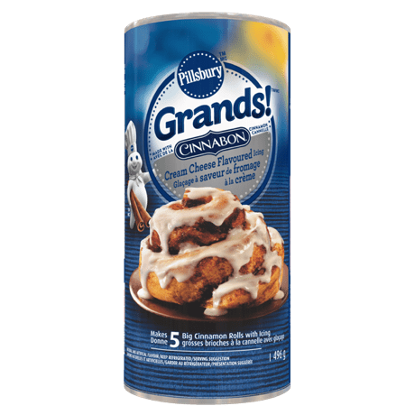 Pillsbury Grands Cinnabon Cream Cheese with icing